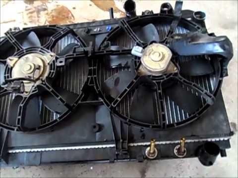 DIY: 04-08 MAZDA RX8 RADIATOR REMOVAL