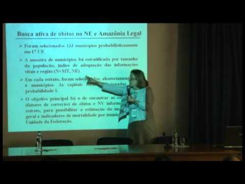 Seminário de Informação e Indicadores em Saúde: Questões Metodológicas e Demográficas - Parte 02