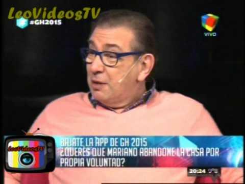 Mariano quiere abandonar la casa GH 2015 #GH2015 #GranHermano