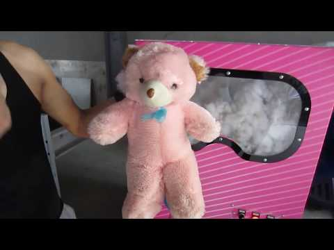 Build Your Own Bear Toy with DIY teddy bear stuffing machine