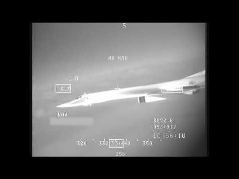 Dois bombardeiros estratégicos...