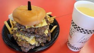 Video Eating A 50oz Cheeseburger, 8oz Fries, 24oz Drink in 2:29 (New Record) | Furious Pete MP3, 3GP, MP4, WEBM, AVI, FLV Oktober 2017
