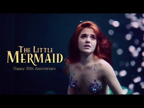 Ariel in Real Life - Disney's The Little Mermaid 30th Anniversary - Part of Your World