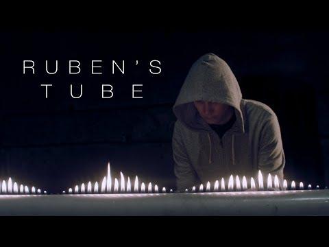 Cymatics: Ruben's Tube Vs. Tesla Coil (видео)