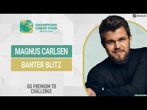 Banter Blitz with World Chess Champion Magnus Carlsen