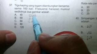 Video Prediksi UN 2015 Matematika IPS-Peluang No 37 MP3, 3GP, MP4, WEBM, AVI, FLV November 2017