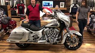 9. Indian Motorcycle 2018 Chieftain Elite!
