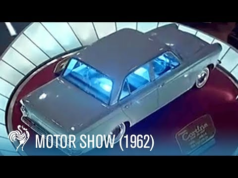 Motor Show in Earls Court (1962)   British Pathé