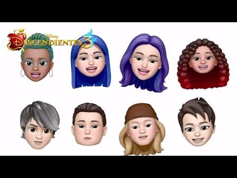 🎶 Night Falls Memoji Cover    Video Musical con letra   Descendientes 3