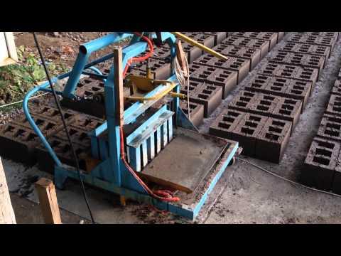 Станок для цементных блоков своими руками