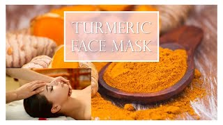 Indian Beauty : Turmeric facial mask - YouTube