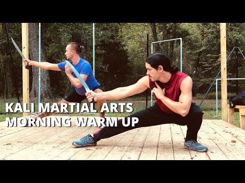 Basic Stretching an Warm Up Exercises - Follow Along | Kali Escrima Arnis