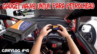 Video GADGET PALING BERFAEDAH UNTUK MOBIL !! | REVIEW & TEST OBD2 ELM327 #carGADGET | CARVLOG #45 MP3, 3GP, MP4, WEBM, AVI, FLV Oktober 2017