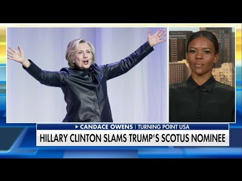 'It's Standard': Owens Slams Hillary for 'Ridiculous' Rhetoric on Trump's SCOTUS Pick