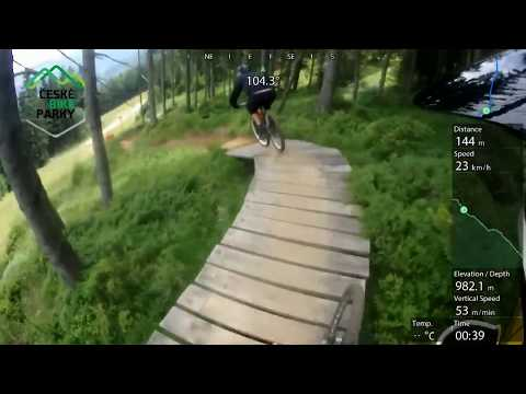 Bikepark Špindl Deep forest 2017