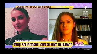 """Download Lagu Elevii de 10 de la Bacalaureat 2018. Iris: """"Vreau să plec definitiv din România"""" Mp3"""