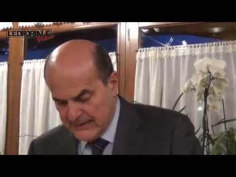 Bersani: tutto quello che arriverà dall'Aquila sarà un orgoglio!