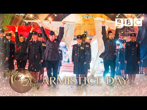 Strictly Pros Perform A Special Remembrance Day Routine - Bbc Strictly 2018