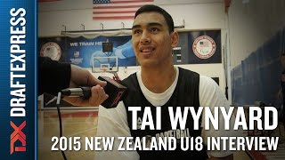 Tai Wynyard 2015 New Zealand U18 Interview