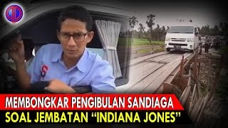 "Video Memb0ngk4r Pen9ibul4n K0ny0l Sandiaga Soal Jembatan ""Indiana Jones"" MP3, 3GP, MP4, WEBM, AVI, FLV Januari 2019"