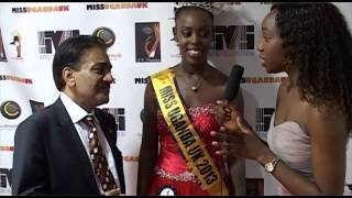 Baba Khalid Sheikh With Miss Uganda Uk 2013