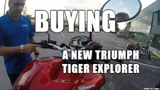 9. Ep. 100 - BUYING a New Triumph Tiger Explorer!