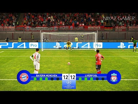 LIVERPOOL Vs BAYERN MUNICH | UEFA Champions League - UCL Final | Penalty Shootout | PES 2019