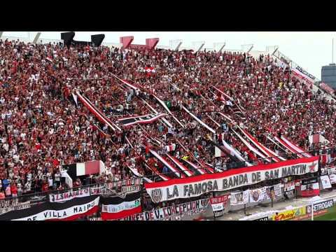 Video - Chacarita Atlanta 22/2/14 - La Famosa Banda de San Martin - Chacarita Juniors - Argentina