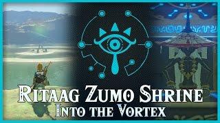 Zelda Breath of the Wild • Into the Vortex • Ritaag Zumo Shrine • Akkala