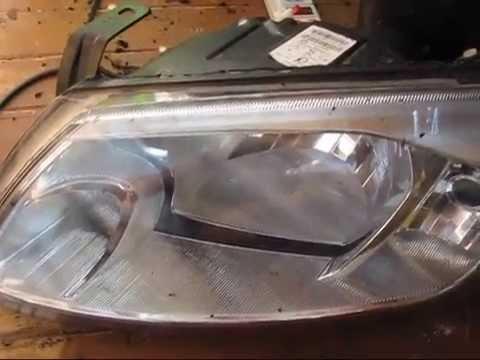 Замена стекла в передней фаре гранта фотка