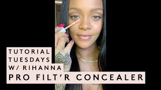 TUTORIAL TUESDAYS WITH RIHANNA: CONCEALER TUTORIAL