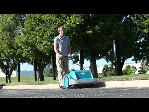 S3 Manual Walk-Behind Sweeper