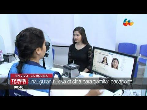 Migraciones inaugura nueva agencia de trámite de pasaportes en La Molina