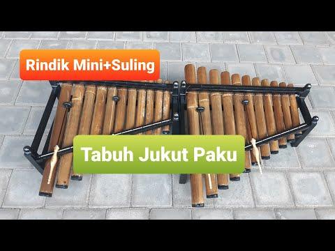 Rindik Mini+Suling - Tabuh Jukut Paku