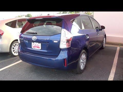 Toyota 2013 prius v фотка