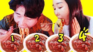 Video MUKBANG 4 MANGKOK MIE AYAM LEGENDARIS! MP3, 3GP, MP4, WEBM, AVI, FLV Maret 2019