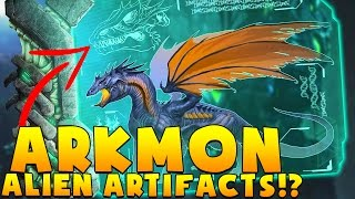 ALIEN ARTIFACTS - ARK SURVIVAL EVOLVED POKEMON MOD (ARKMON) #11