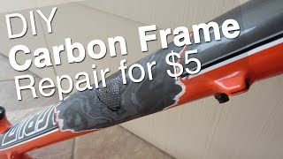 Video DIY Carbon Bike Frame Repair || Tools, Supplies, How To, Step by Step MP3, 3GP, MP4, WEBM, AVI, FLV Februari 2019