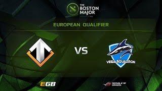 Escape vs Vega, Boston Major EU Qualifiers