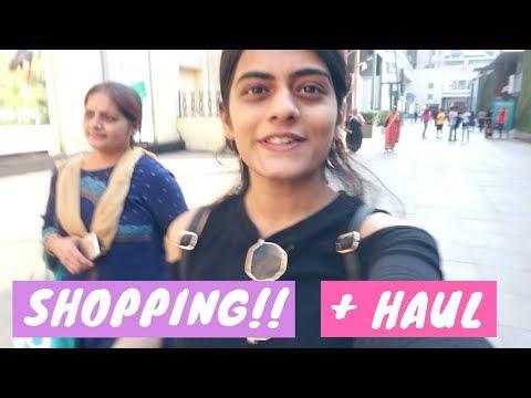 Shopping With Mom + Haul | #dhwanisdiary