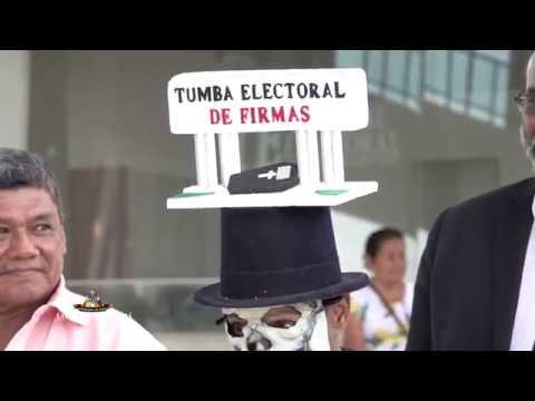Precandidatos independientes denuncian lo que consideran 'genocidio' de firmas