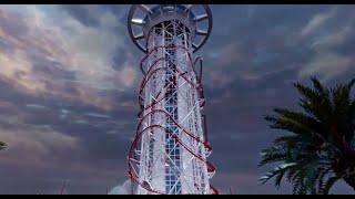 Le SkyScraper : plus haut manège du monde