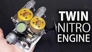 Video Making A Twin Nitro Engine MP3, 3GP, MP4, WEBM, AVI, FLV September 2018
