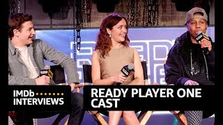 Video 'Ready Player One' Cast Interview at SXSW | IMDb EXCLUSIVE MP3, 3GP, MP4, WEBM, AVI, FLV September 2018