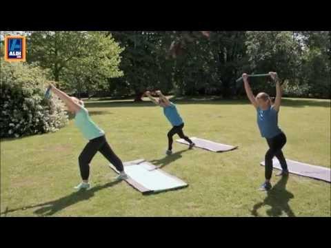 ALDI SÜD FitnessBand Workout