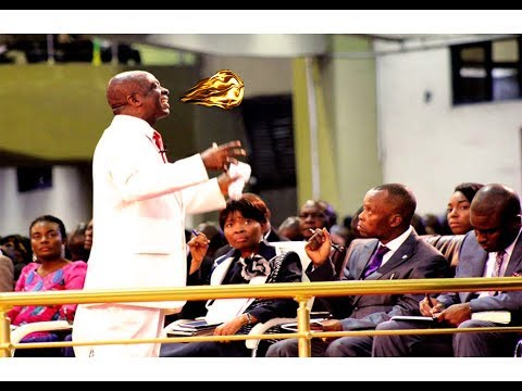 Bishop David Oyedepo - 50 Mins Tongues* Of* Fire*