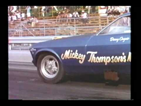 Mickey Thompson 69 Mustang Funny Car
