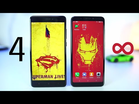 Micromax infinity vs Redmi Note 4 Speed test and Memory Management Test