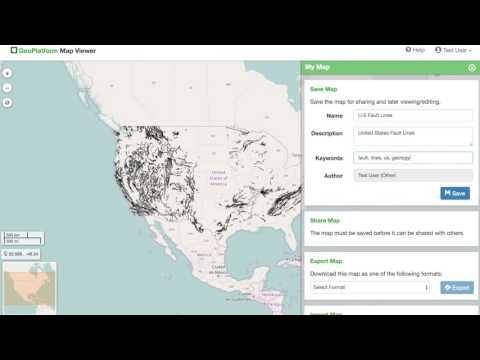 Map Viewer -  Saving Maps