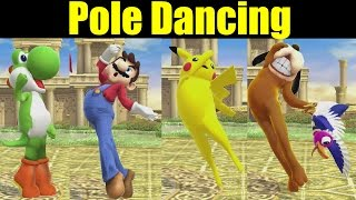 What if Every Character Could Pole Dance Like Palutena In Super Smash Bros Wii U